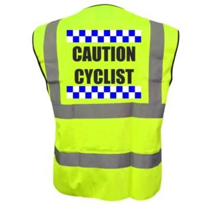 Sillitoe Cycling Hi Vis Vests