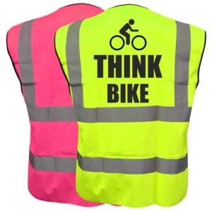 Cycling Hi Vis Safety Vests