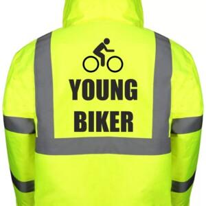 Kids Cycling Bomber Jackets