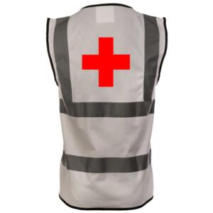White Medical Hi Vis Vests