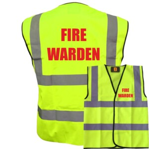 Yellow Fire Safety Vests